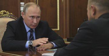 Встреча Путина В.В. и Калинина
