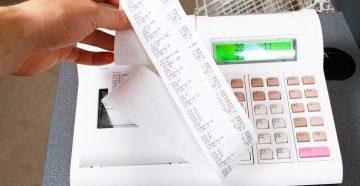 Итоговый чек в онлайн кассе