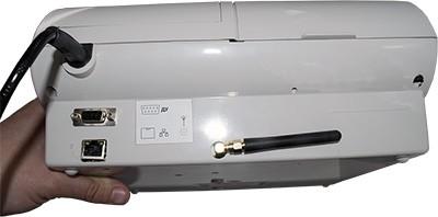 Рис. 5. Порты и антенны онлайн-кассы ЭКР-2102К-Ф. Источник: сайт оператор фискальных данных