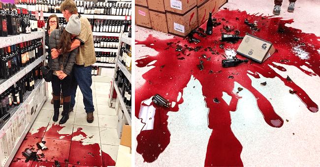 Товар разбит в магазине