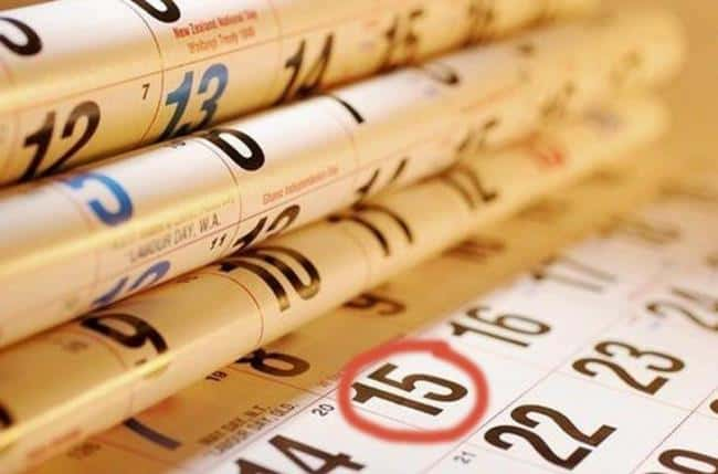 Рис. 2. Отчет СЗВ-М нужно сдать до 15 числа следующего месяца